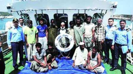 Coast Guard seize 'suspicious' vessel off Kerala coast