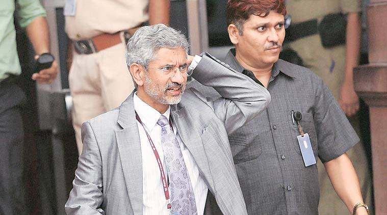Foreign Secretary S Jaishankar. (Source: PTI photo)