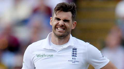 Ashes 2015: James Anderson ruled out of fourth Test