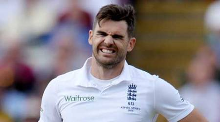 James Anderson ruled out of fourth Test