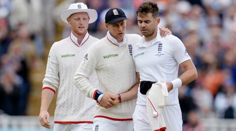 We were 'fortunate' to have conditions conducive to seam bowling: James Anderson