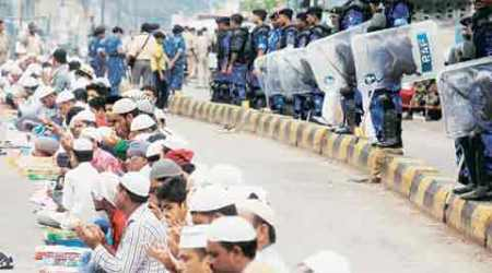 In Jamshedpur, clash is between communities and police vs govt