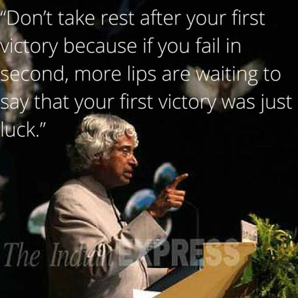 Inspirational Quotes By Apj Abdul Kalam For Students: PHOTOS: APJ Abdul Kalam's 86th Birth Anniversary: His Most