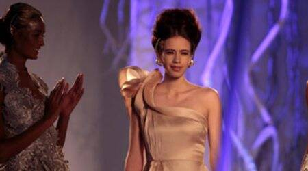 Kalki Koechlin is a ramp Goddess at AICW 2015