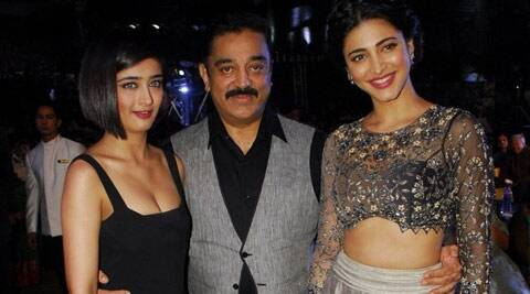 Kamal Haasan, Shruti Haasan, Akshara Haasan, Papanasam, Actor Kamal Haasan, Kamal Haasan Daughters, Kamal Haasan Shruti, Kamal Haasan Akshara, Kamal Shruti Haasan, Kamal Akshara Haasan, Kamal Haasan Papanasam, Kamal Haasan Papanasam release, Papanasam Movie, Papanasam Trailer, Papanasam release, Papanasam 2015, Papanasam Kamal Haasan, Entertainment news