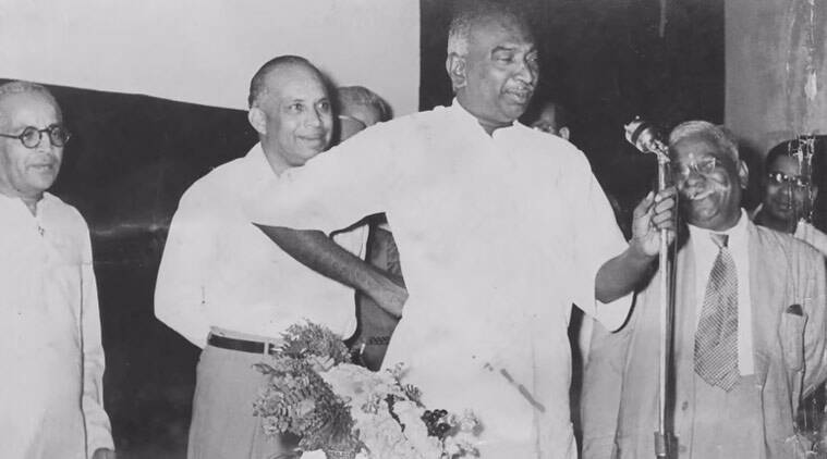 K Kamaraj, Birth Anniversary, BJP Kamaraj, BJP kamaraj birthday, Kamaraj birth anniversary BJP, Venkaiah Naidu Kamaraj, Venkaiah Naidu, Explained, bharatiya janata party, narendra modi, Sardar Vallabhbhai Patel, anti-Congressism, Nation news, india news, indian Express