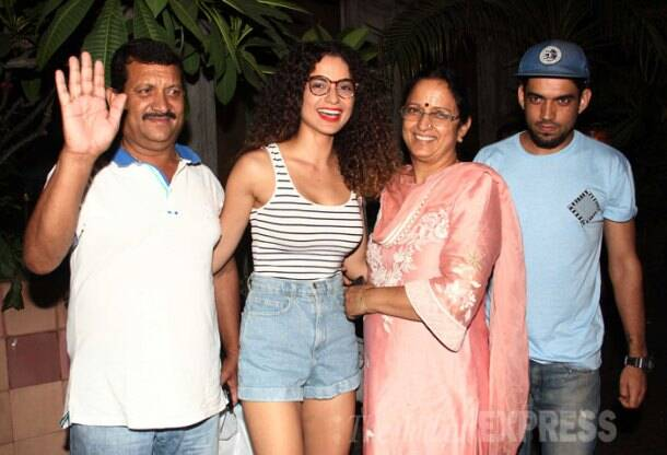 Kangana Ranaut, Kangana parents