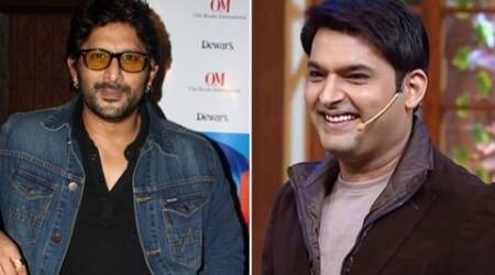 Kapil Sharma, Arshad Warsi, Ajay Devgan, Ajay Devgn, Shriya Saran, Tabu, Comedy Nights With Kapil, Kapil Sharma Comedy Nights, Kapil Sharma Injured, Arshad Warsi host Comedy Nights, Arshad Warsi Comedy Nights With Kapil, Arshad Warsi Kapil Sharma Comedy Nights, Entertainment news