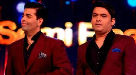 Kapil Sharma, Kapil Sharma comedy nights, comedy nights with kapil, comedy nights with kapil sharma, karan johar, karan johar kapil sharma, comedy nights with kapil karan johar