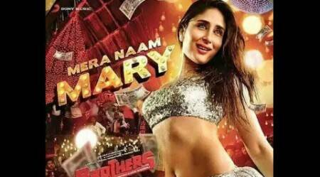 Revealed: Kareena Kapoor sizzles in silver for 'Brothers' song 'Mera naam Mary'
