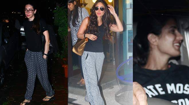 Kareena, Karisma's salon day; Katrina around town