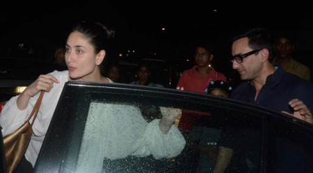 Kareena Kapoor, Saif Ali Khan dine out with friends Malaika, Amrita, Arbaaz and Shakeel