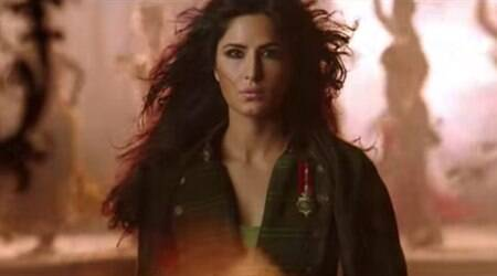 Phantom song 'Afghan Jalebi' is average, watch it only for Katrina