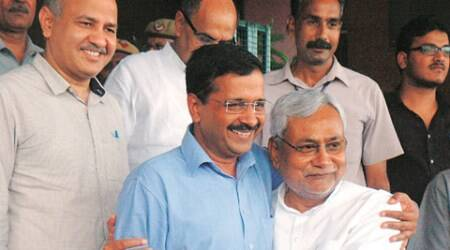 arvind kejriwal, kejriwal tweet, nitish kumar, kejriwal nitish, bjp, bjp kejriwal, Sambit Patra, BJP leader Sambit Patra, India news, nation news, latest news
