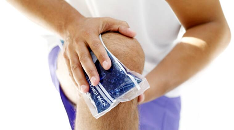 Knee pain in older adults, often caused by osteoarthritis, usually means more visits to the doctor and also can be a harbinger of disability. (Source: Thinkstock Images).