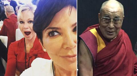 Dalai Lama, Kris Jenner, Melanie Griffith, Keeping Up with the Kardashians, Kris Jenner Dalai Lama, Melanie Griffith Dalai Lama, Kris Jenner dalai lama Pictures, Kris Jenner dalai lama selfie, Melanie Griffith Dalai Lama Pictures, Melanie Griffith Dalai Lama Selfie, Kris Jenner Melanie Griffith dalai Lama, Dalai Lama 80th birthday, Entertainment news