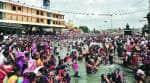 Kumbh Mela: Foreigners combine a dip in Godavari with a sip atvineyard