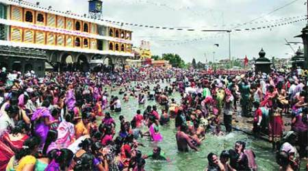 Kumbh Mela: Foreigners combine a dip in Godavari with a sip at vineyard