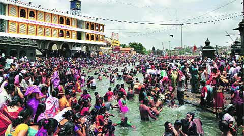 nashik, kumbh mela, nashik kumbh mela, kumbh unrest, kumbh rush, mumbai news, city news, local news, maharashtra news, Indian Express