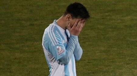 Lionel Messi's family attacked at Copa America final, say reports