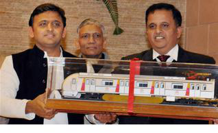 lucknow metro, metro lucknow, up metro, new metro, indian cities with metro, lucknow news, india news, indian express