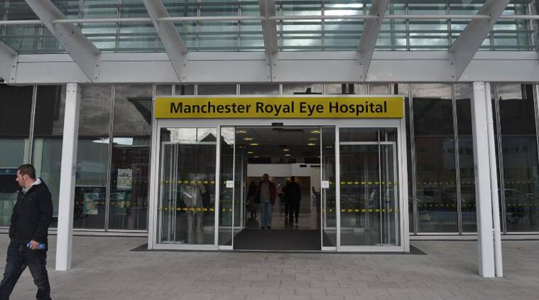 The operation at Manchester Royal Eye Hospital, is the first time it has been implanted in a patient with age-related macular degeneration (AMD) that affects at least half a million people in the UK to some extent.
