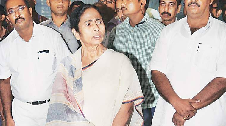 Mamata Banerjee The chief minister during the day had called an all party meeting on Saturday to discuss the present flood situation in the state, which has claimed several lives. (Express Photo)