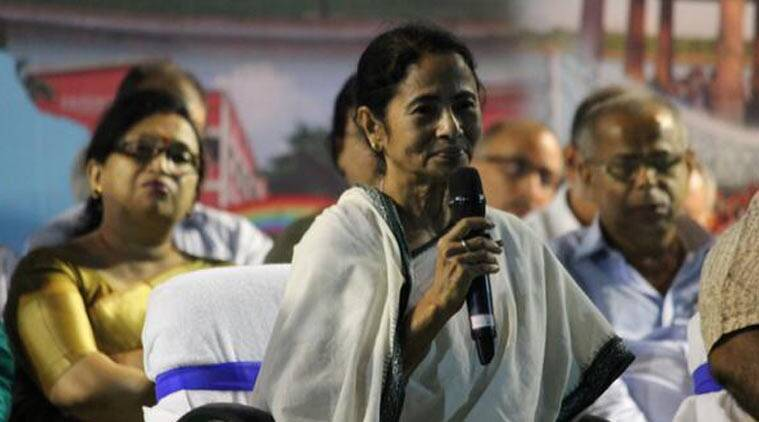 West bengal CM Mamata Banerjee at the 100th administrative meeting in Burdwan (Souce: Twitter/AITC)