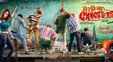 Zeishan Quadri, Writer Zeishan Quadri, Meeruthiya gangsters, Zeishan Quadri Meeruthiya Gangsters, Meeruthiya Gangsters First look, Meeruthiya Gangsters Movie, Zeishan Quadri Movies, Entertainment news