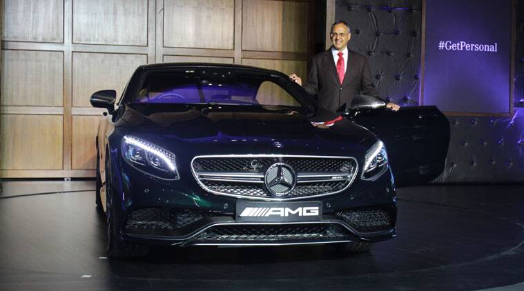 mercedes s 500 coupe s 63 amg coupe and g 63 amg launched the indian express. Black Bedroom Furniture Sets. Home Design Ideas
