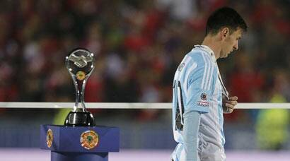 Copa America: All doom and gloom for Lionel Messi, Argentina