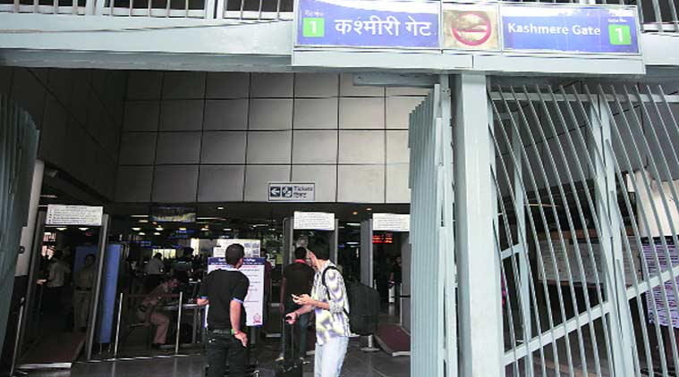 metro station suicide, woman suicide at metro station, kashmere gate metro station suicide, kashmere gate metro station, delhi metro station suicide, delhi news, latest news, indian express