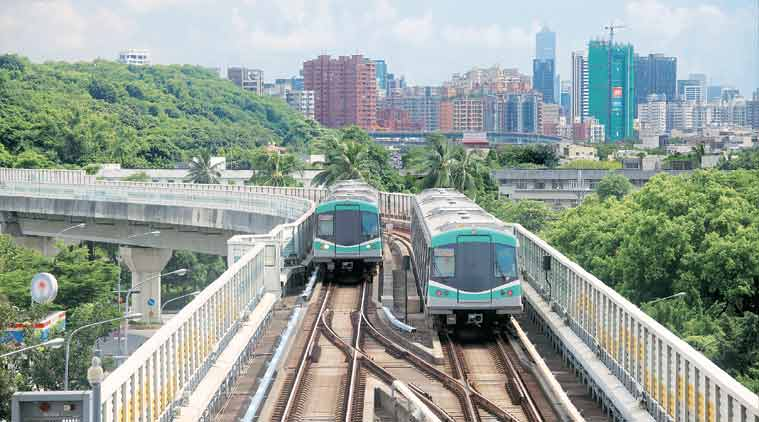 metro car shed, mumbai metro, mumbai metro car shed, Dahisar-Bandra-Mankhurd Metro , MMRDA, mumbai news, city news, local news, maharashtra news, Indian Express