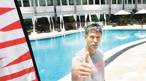 I like acting but I can't do it full time…it's disorienting, says Milind Soman