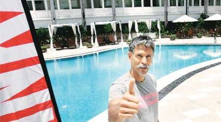 talk, milind soman, ironman triathlon, Zurich ironman triathlon, cycling, marathon, cycling marthon, indian express