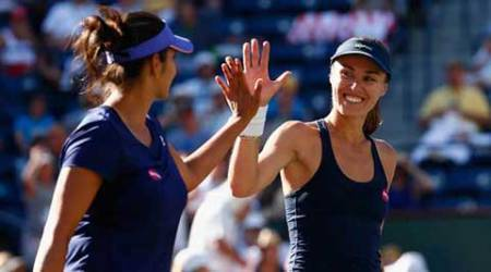 Sania, Bopanna seal quarters berth
