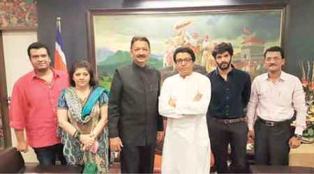 Sanjay Deshmukh, Raj Thackeray, Vice-Chancellor, MNS chief, Sanjay Deshmukh meets Thackeray, VC meets MNS chief, Mumbai news