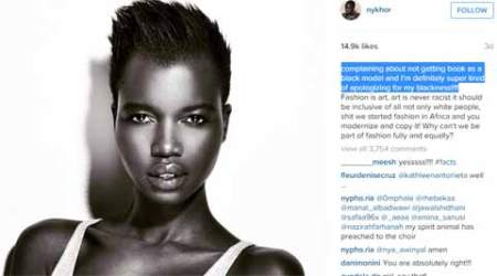 Why must I carry my own make-up to fashion shows: Sudanese model onInstagram