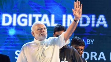 Digital India, Make in India, Tech startups in India, Independence Day, August 15 Independence Day, Constapark, Arterial Pulse Analyzer, ImmunizeIndia, WiFi Trash Bin, Helping Faceless