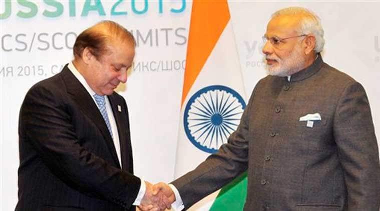 Narendra modi, nawaz sharif, Narendra Modi, Nawaz Sharif, Narendra Modi russia visit, Modi russia visit, india SCO inclusion, india SCO, modi sharif meeting, modi sharif ufa meeting, sharif modi ufa talk, india pakistan ties, pakistan india relation