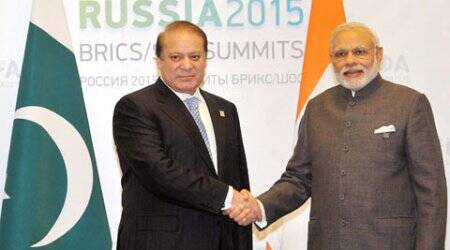 When PM Narendra Modi waited for Nawaz Sharif at Ufa,  Foreign Secys sat in a corridor with a draft