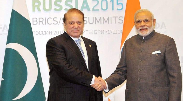 Narendra modi, nawaz sharif, Narendra Modi, Nawaz Sharif, Narendra Modi russia visit, Modi russia visit, india SCO inclusion, india SCO, modi sharif meeting, modi sharif ufa meeting, sharif modi ufa talk, india pakistan ties, pakistan india relation, C. Raja Mohan column, ie column, indian express column