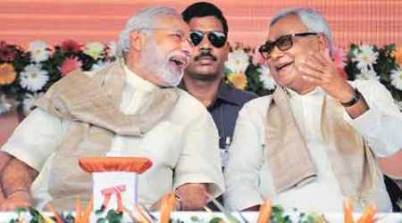 PM Narendra Modi goes on the offensive against Nitish Kumar, plays development card