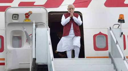 Congress asks Guinness to include Modi's name for 'setting a record of travellingabroad'