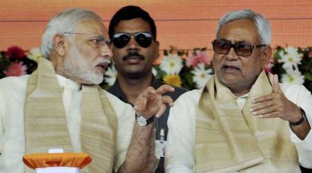 Nitish Kumar sidesteps queries about strain in ties with Narendra Modi