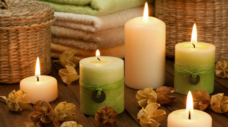 One can avoid the damp moist smell with scented candles. They are in various fragrances, so choose what suits you. (Source: Thinkstock Images)