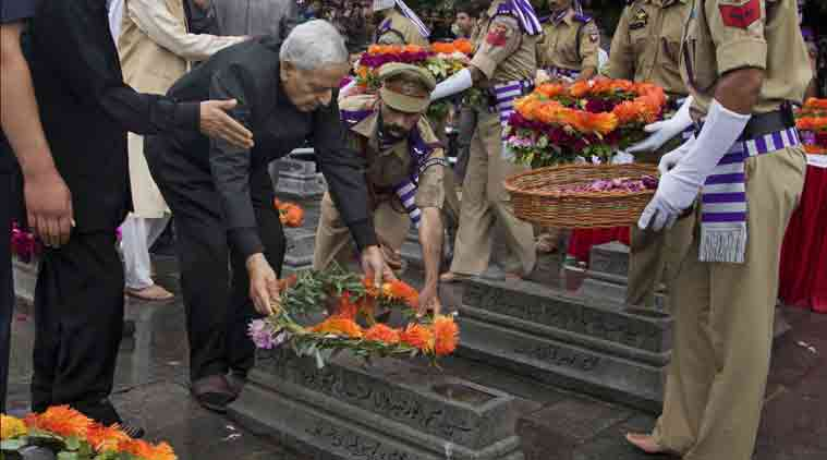 Sayeed mufti, martyrs day, j&k martyrs day, BJP