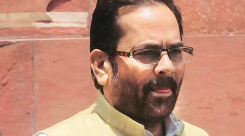 Mukhtar Abbas Naqvi, Rao, Naqvi, Zero Hour, Rajya sabha, rajya sabha monsoon session, rajya sabha adjourned, Andhra Pradesh, Bhagwant Mann, news, India news, Chandigarh news, national news, latest news, AAP, P J Kurien, TDP, CPIM