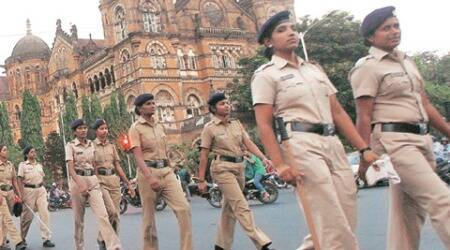 mumbai police, mumbai police HQ, baggage scanner, bag scanner, mumbai police bag scanner, mumbai news, indian express