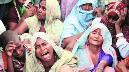 Tension in Muzaffarnagar village, Muslims remained besieged in a mosque for half a day